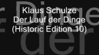Klaus Schulze - Der Lauf der Dinge *rare*