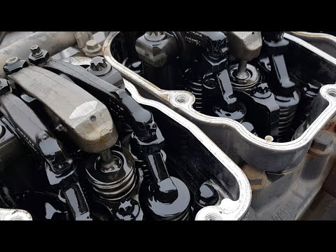 двигатель скания  Hpi ! дизель , звук работающего двс без клапанных крышек гбц !