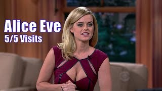 Alice Eve - EVERYONE Is Distracted - 5/5 Appearances In Chronological Order