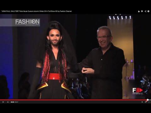"""JEAN PAUL GAULTIER"" feat. Conchita Wurst  Paris Haute Couture Autumn Winter 2014 Full Show HD by FC"