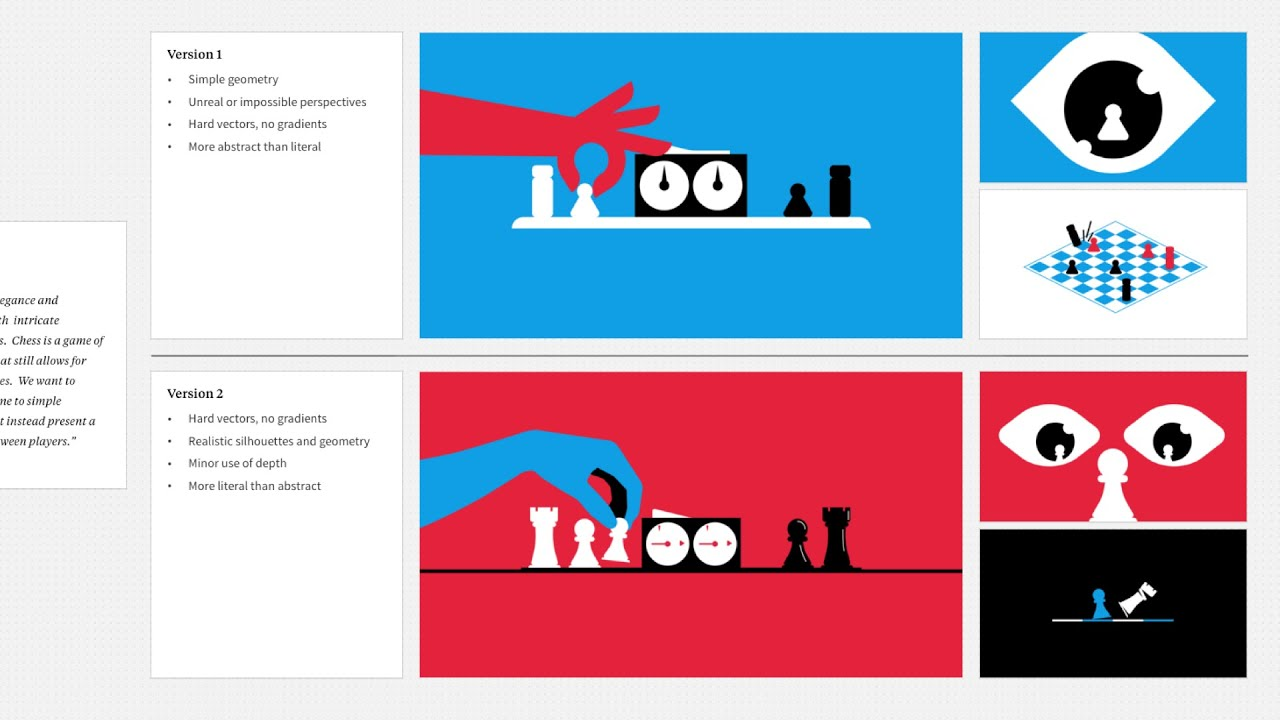 Motion graphics design process: How to create style frames