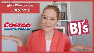 COSTCO vs BJS | WHICH WAREHOUSE CLUB IS BETTER