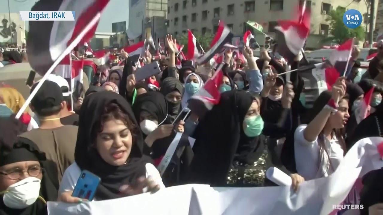 Irak'ta Protestolar Sürüyor