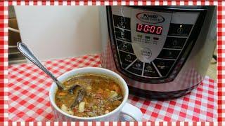 Hobo Soup  Hamburger Macaroni Soup Recipe   Power Pressure Cooker XL Review  Noreen&#39s Kitchen