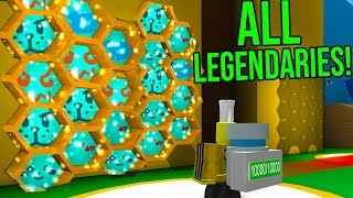 ROBLOX BEE SWARM SIMULATOR *GETTING ALL LEGENDARIES!*