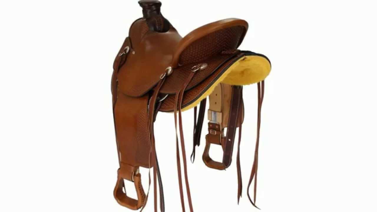 Stool Ebay Dakota Wade Tree 809 Western Ranch Saddle Horse Saddlery Riders Bar