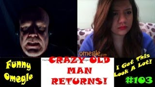 Funny Omegle Trolling Chat Roulette | Crazy Old Man Is Charming As Ever!
