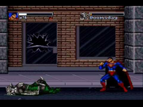 Kwing Game Reviews - Death & Return Of Superman Game Review (Snes/Gen)