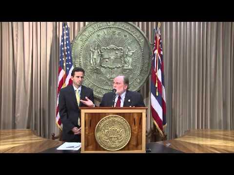 Gov. Abercrombie Appoints Lt. Gov. Brian Schatz to U.S. Senate
