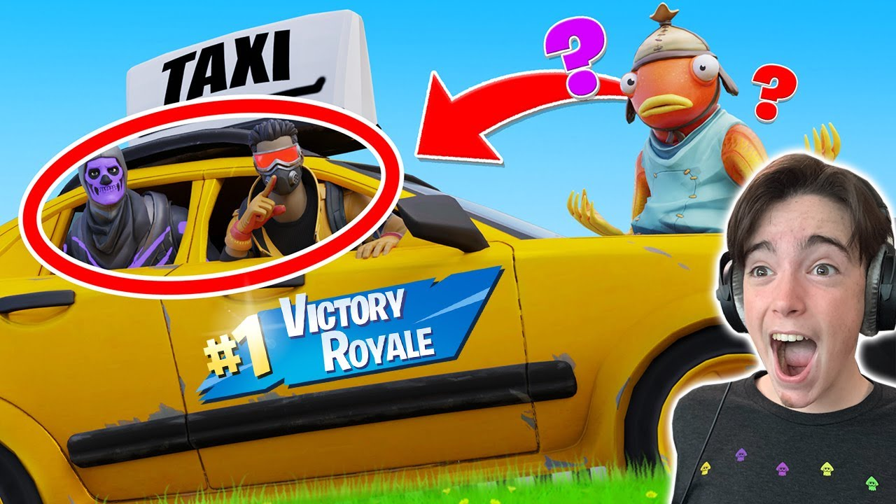 We WON Hiding In CARS! (Fortnite with Mr Bee)