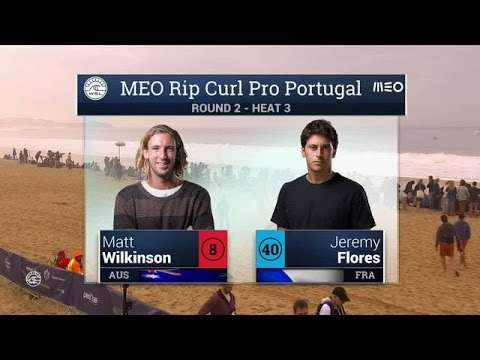Meo Rip Curl Pro Portugal: Round Two, Heat 3