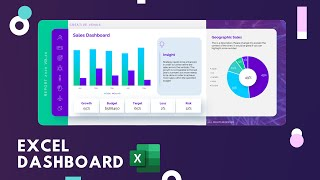 Excel Class | Design Beautiful Automated Dynamic Dashboard Tutorial In Microsoft Office 365 Excel