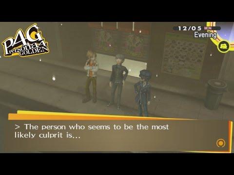 Persona 4 Golden The True Culprit Newgame Youtube