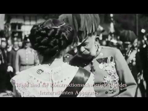 Tonaufnahme 1903 - Kaiser Franz Joseph I. (mit Untertiteln)