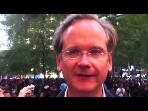 Lawrence Lessig Occupy Wall Street Could Bridge Left And Right