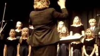 CCES Middle School Choir Winter Light