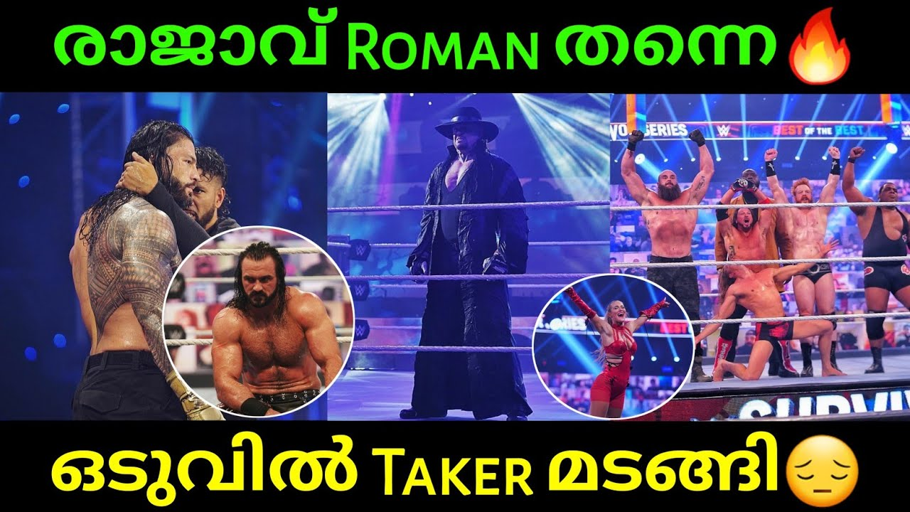 WWE Survivor Series 2020 Review in Malayalam | MWN