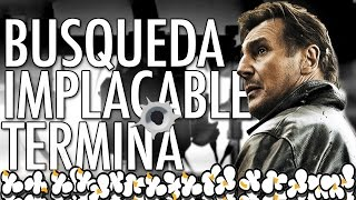 Liam Neeson en Close Up a Busqueda Implacable 3