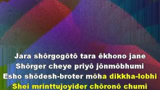 MUKTIRO MONDIRO SHOPANO TOLE: Wiki-Bengali Graphics Enhanced Karaoke