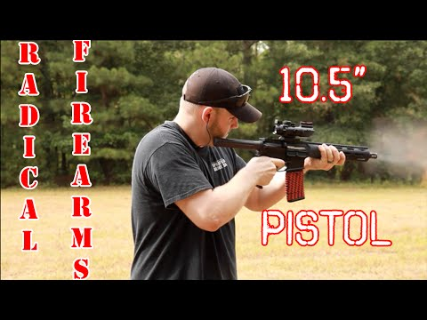 "Radical Firearms 10.5"" AR Pistol Upper Review"