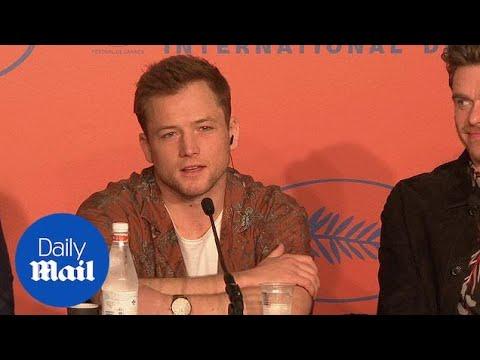 Taron Egerton Discusses 'Rocket Man' And 'Bohemian Rhapsody'