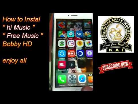 FREE MUSIC using hi MUSIC from Bobby HD for Non Jailbreak
