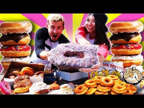 THE DELICIOUS DOUGHNUT DATE! (15,000+ CALORIES)
