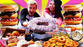 THE DELICIOUS DOUGHNUT DATE! (15,000+ CALORIES)