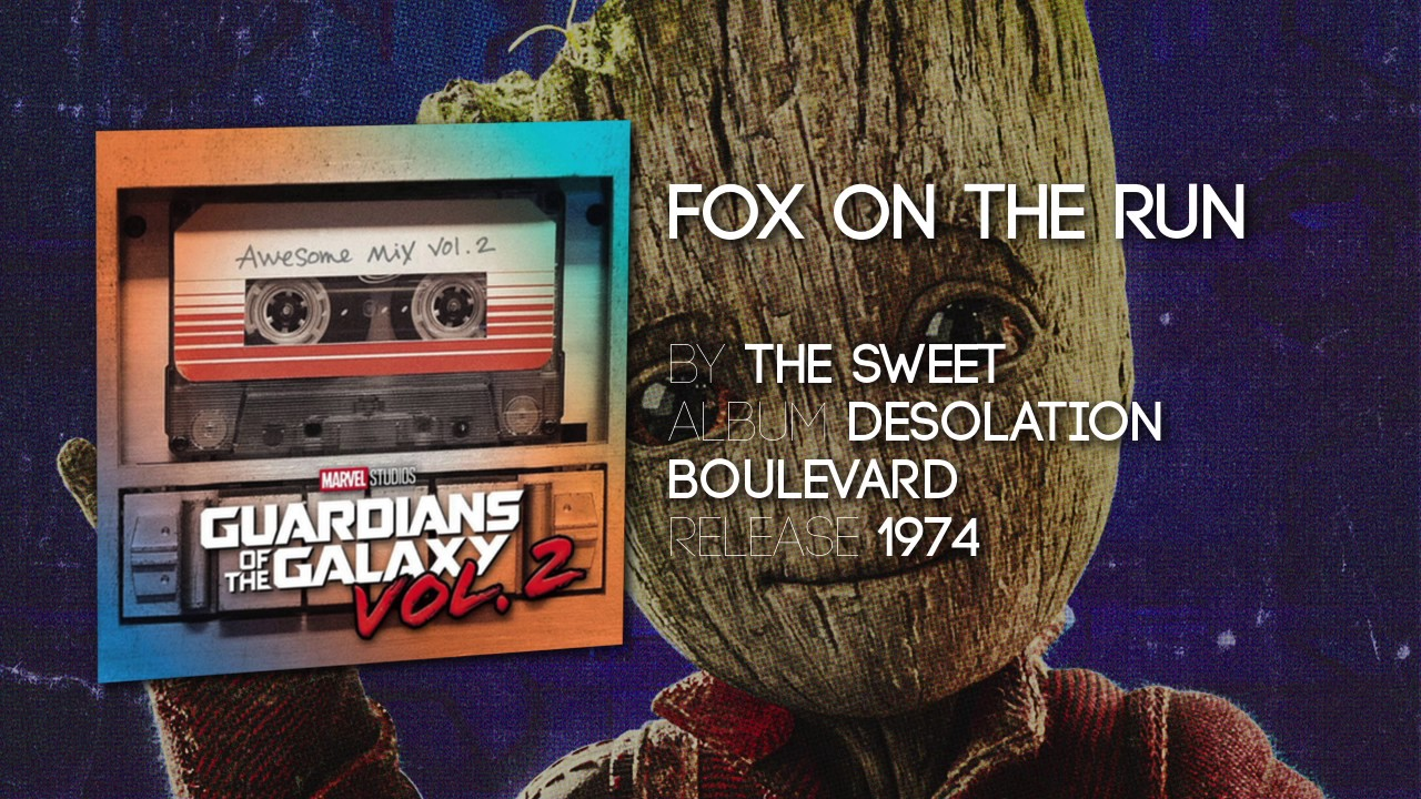 Fox On The Run The Sweet Guardians Of The Galaxy Vol 2 Official Soundtrack Youtube