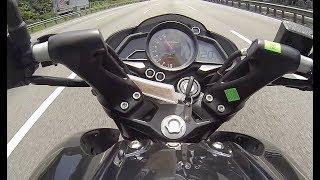 Modenas Pulsar NS200 Top Speed Test
