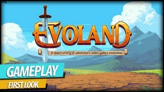 Evoland - Evolution of Classic Action/Adventure Games Gameplay (Commentary)