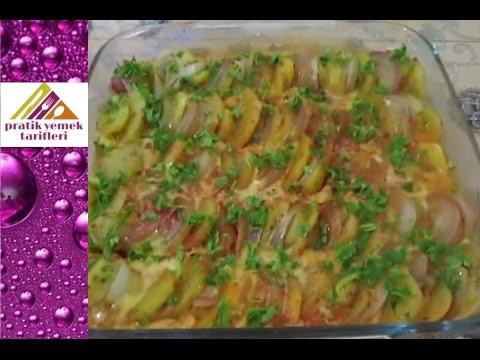 patates oturtması patatesli mıkla tarifi  pratik yemek tarifleri
