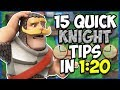 15 QUICK Tips About: The Knight⚔️