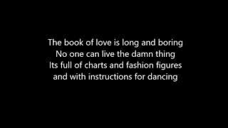 Gavin James - The Book Of Love LYRICS