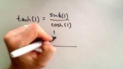 Hyperbolic Functions - The Basics
