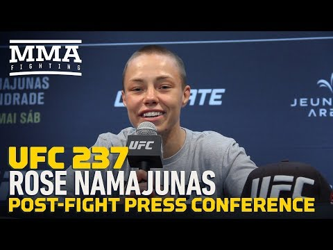 UFC 237: Rose Namajunas Hints At Retirement After Loss  - MMA Fighting