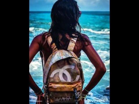 рюкзаки шанель фото