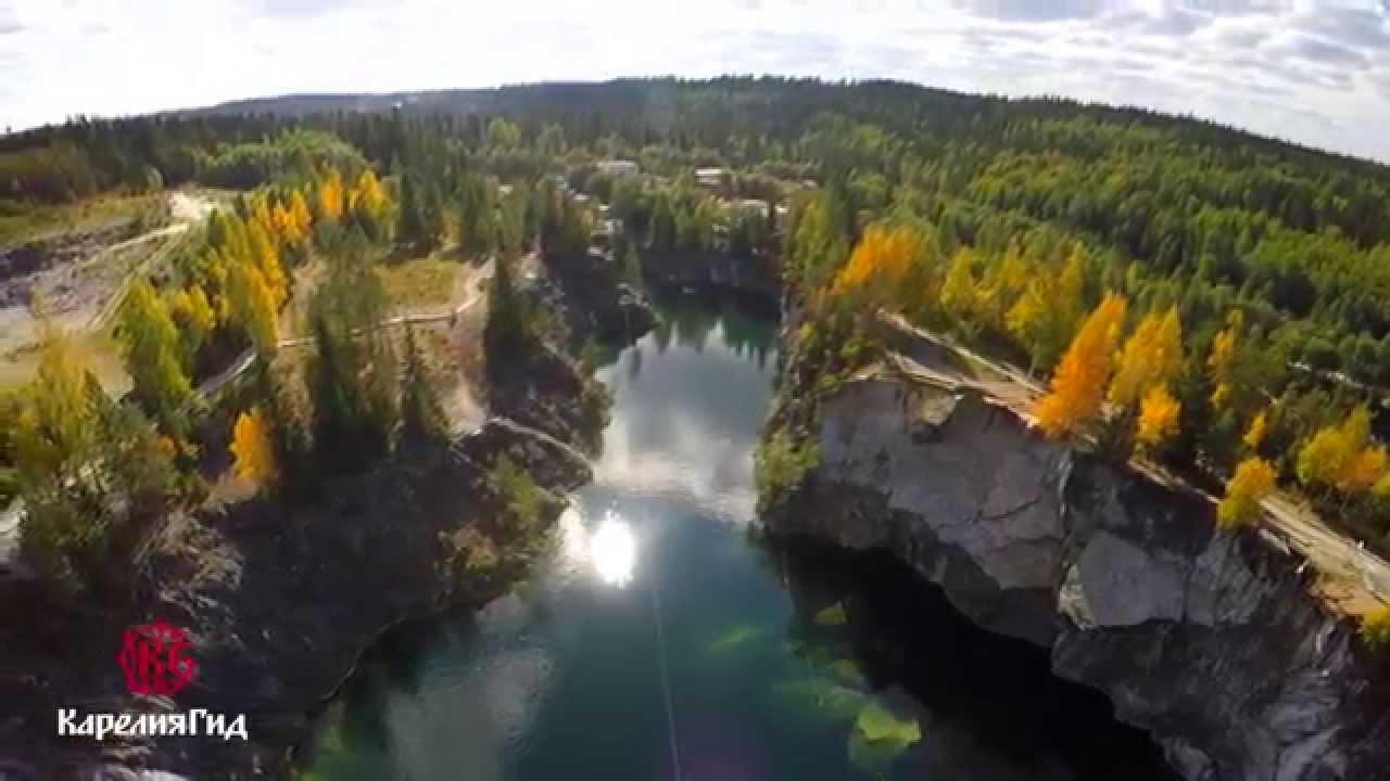 Тур - Водопады Карелии ( Второй ролик Тур фирма Карелия ГИД)