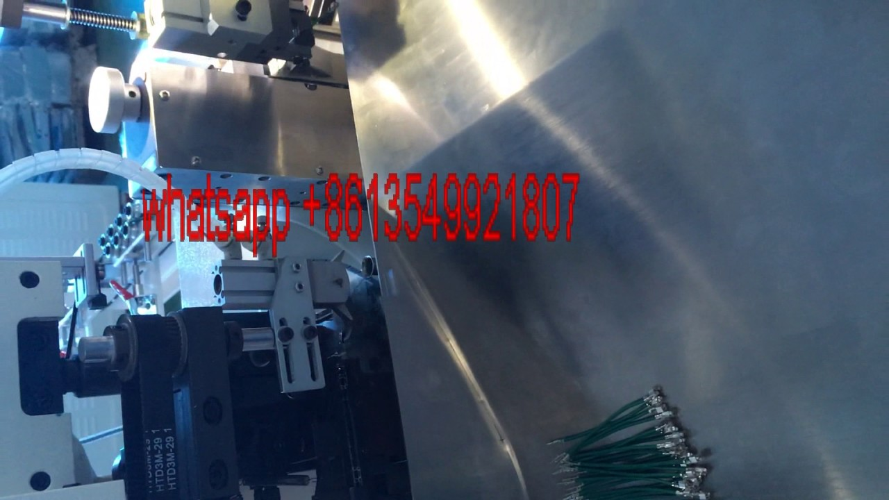 maxresdefault new automatic wire cut strip crimp machine price wire harness wire harness automation at virtualis.co