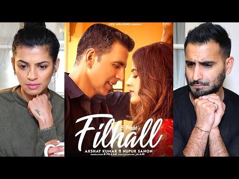 Filhall  Akshay Kumar Ft Nupur Sanon  Bpraak  Jaani  Music Video Reaction!