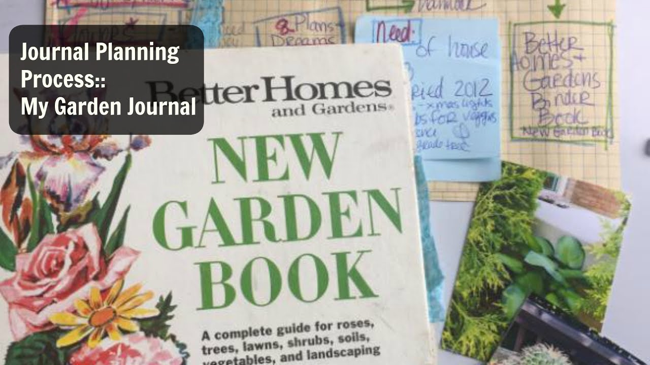 Journal Planning Video My Garden Journal Flip Through YouTube – Planning My Garden