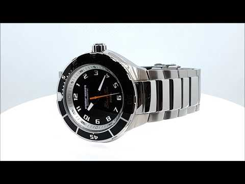 Vostok Amfibia Black Sea 2415.01-440793 watches for diving video