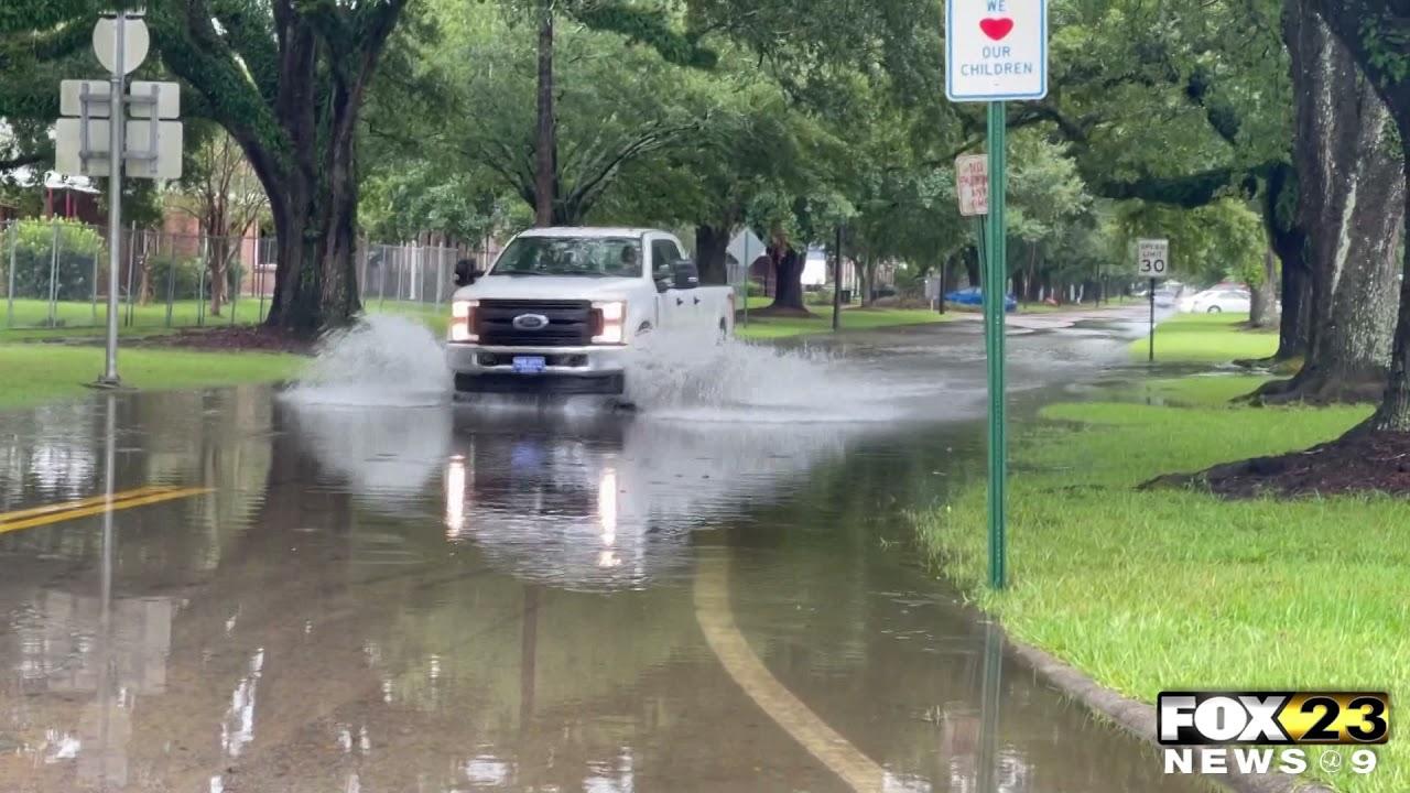 Hurricane Ida passes through Pine Belt
