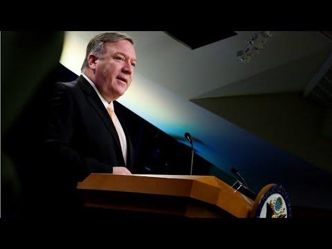 """Une intervention militaire américaine """"possible si nécessaire"""" au Venezuela selon Mike Pompeo"""