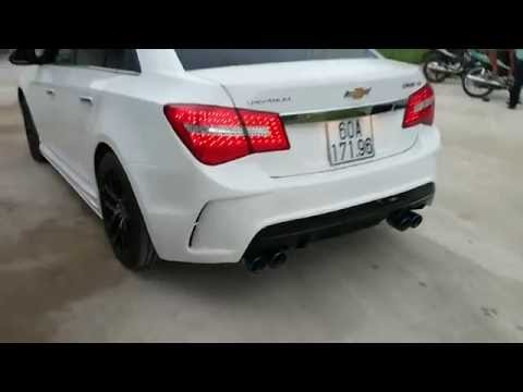 Chevrolet Cruze LS 1.6 Выхлоп! Спортивный выхлоп.Тюнинг шевроле круз