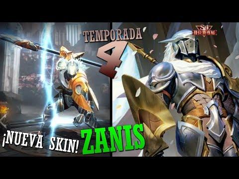 ¡SKIN TEMPORADA 4! [Zanis] | Noticias Arena of Valor