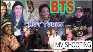 BTS (방탄소년단) 'Not Today' Official MV SHOOTING | REACTION | GET THIS SONG TO 200 MILLION