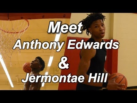 Meet Anthony Edwards & Jermontae Hill I Exclusive Workout
