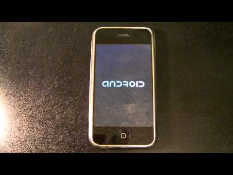 iPhone 2G/3G Booting Android 2.2.1 Froyo - iDroid