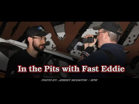 In the Pits with Fast Eddie - Tim Hartman Jr, Winner Saratoga 602 Super Nationals At Albany-Saratoga